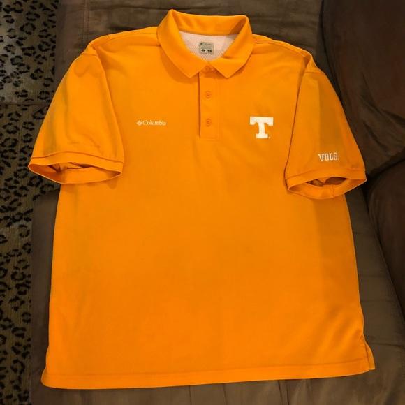 db47d0b0597d3 Columbia Other - Columbia PFG Tennessee Vols UT Polo Shirt L